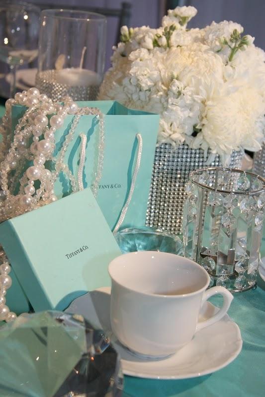 Tiffany Inspired Wedding Decor