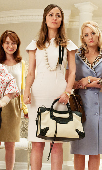 Bridesmaids Fashion Credits: Rose Byrne | Loveisabella
