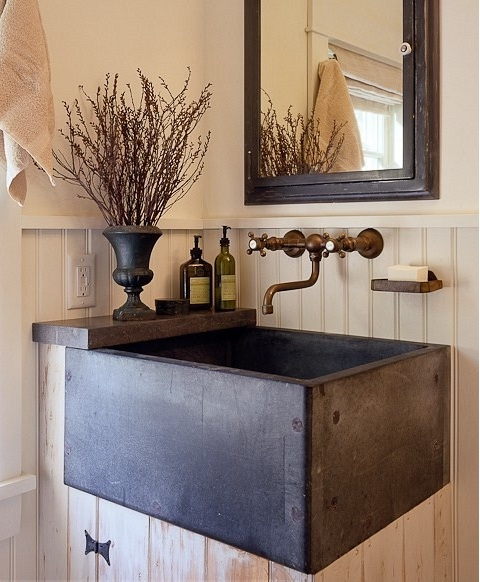 french country sink